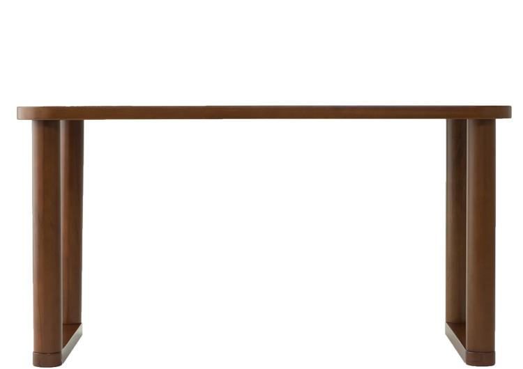 かに座PLUSパーソナルテーブル/ロータイプダークブラウン